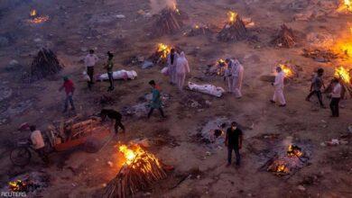 صورة الوضع في الهند.. كورونا «يبتلع» المدن والمسلمون يبحثون عن «مقابر»