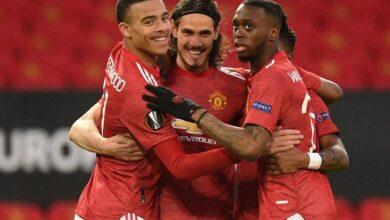 صورة أهداف مباراة مانشستر يونايتد وروما اليوم في الدوري الأوروبي