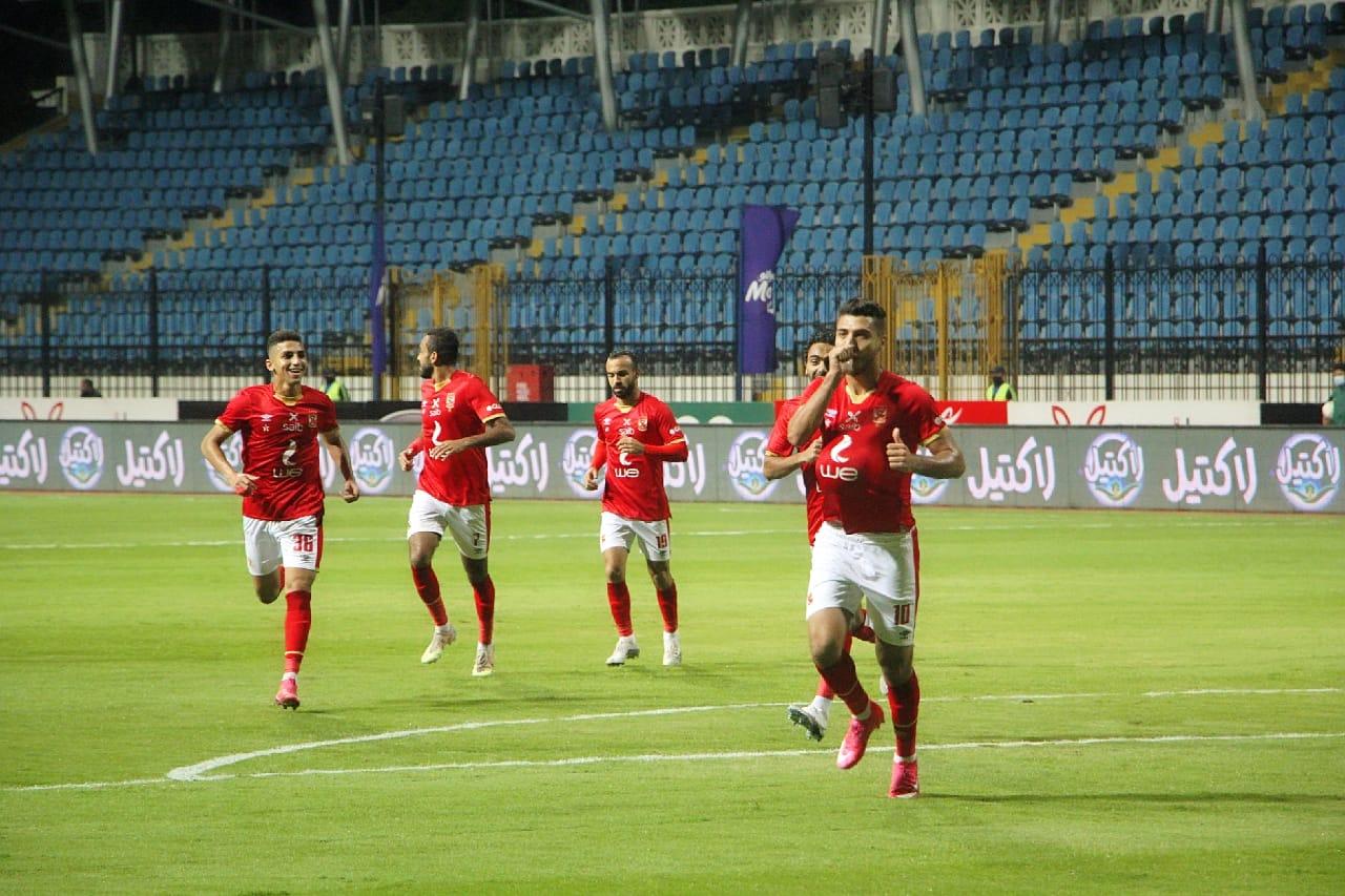 موعد مباراة الأهلي ومصر المقاصة