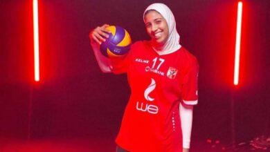 صورة لاعبة الأهلي سلمى سعد تكشف لـ«حصري 24» كواليس التتويج بلقب دوري الطائرة «حوار»