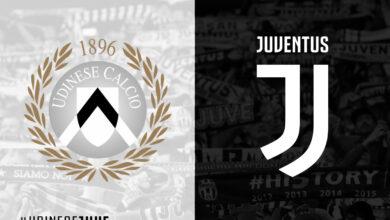 صورة موعد مباراة يوفنتوس وأودينيزي في الدوري الإيطالي والقنوات الناقلة
