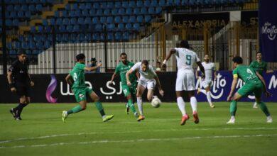 صورة لقطات من مباراة المصري والاتحاد السكندري في الدوري المصري «صور»