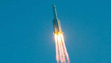 صورة الصاروخ الصيني يهدد دولة عربية.. «مر فوق الإسكندرية»