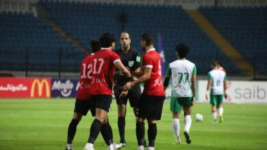 صورة مشاهد من مباراة الاتحاد السكندري وطلائع الجيش في الدوري المصري «صور»