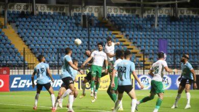 صورة 10 مشاهد من مباراة غزل المحلة والمصري في الدوري المصري «صور»