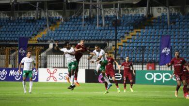 صورة 10 مشاهد من مباراة المصري ومصر المقاصة «صور»