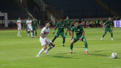 صورة 9 مشاهد من مباراة الزمالك والمصري في الدوري «صور»