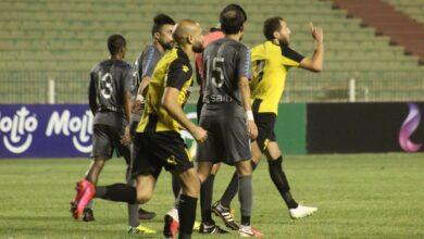 صورة لقطات من مباراة المقاولون والإنتاج الحربي في الدوري: «التعادل سيد الموقف»