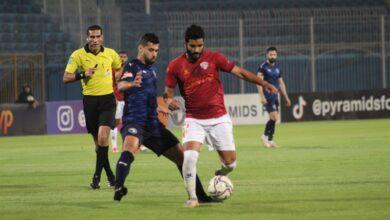 صورة مشاهد تلخص مباراة بيراميدز وسيراميكا كليوباترا في الدوري المصري «صور»