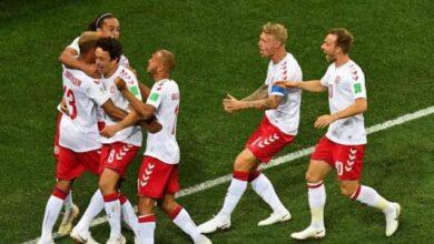 صورة ملخص وأهداف مباراة فنلندا ضد الدنمارك في يورو 2020