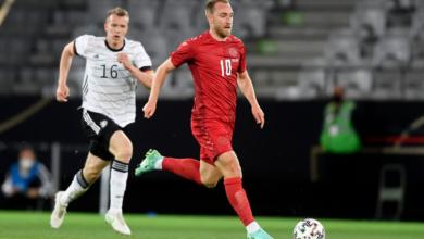 صورة نتيجة مباراة الدنمارك وفنلندا Denmark vs Finland في يورو 2020