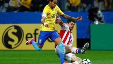 صورة مشاهدة مباراة باراجواي ضد البرازيل في تصفيات كأس العالم Brazil VS Paraguay