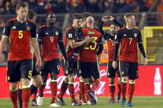 بلجيكا ضد اليونان