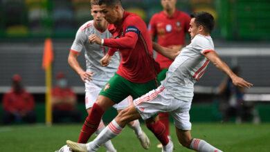 صورة مشاهدة مباراة إسبانيا ضد البرتغال Spain vs Portugal بمشاركة رونالدو