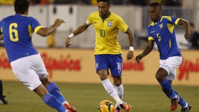 صورة مشاهدة مباراة البرازيل ضد الإكوادور Brazil vs Ecuador في تصفيات كأس العالم