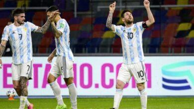 صورة ملخص وأهداف مباراة الأرجنتين وكولومبيا في تصفيات كأس العالم