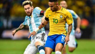 صورة بث مباشر مباراة الأرجنتين والبرازيل Argentina vs Brazil في نهائي بطولة كوبا امريكا