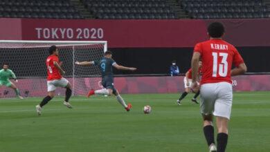 صورة نتيجة مباراة مصر والأرجنتين في أولمبياد طوكيو 2020