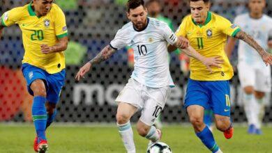 صورة مشاهدة مباراة الأرجنتين والبرازيل في نهائي كوبا أمريكا