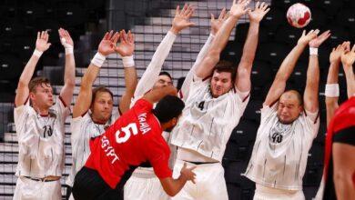 صورة الفراعنة تهزم الألمان في اليد Die Pharaonen schlagen die Deutschen im Handball