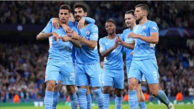 صورة مباراة باريس سان جيرمان ومانشستر سيتي man city vs psg في دوري أبطال أوروبا