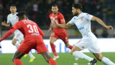 صورة مباراة حسنية أكادير والوداد الرياضي بالبطولة المغربية الاحترافية