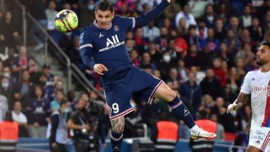 صورة أهداف مباراة باريس سان جيرمان وليون