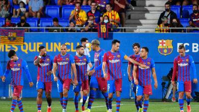 صورة مباراة برشلونة وبنفيكا في دوري أبطال أوروبا كورة لايف KORALIVE