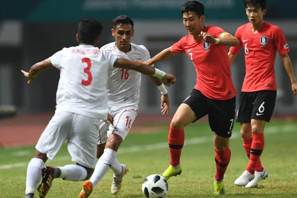 مباراة إيران وكوريا الجنوبية
