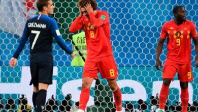 صورة مباراة بلجيكا وفرنسا كورة لايف KORALIVE بأمم أوروبا