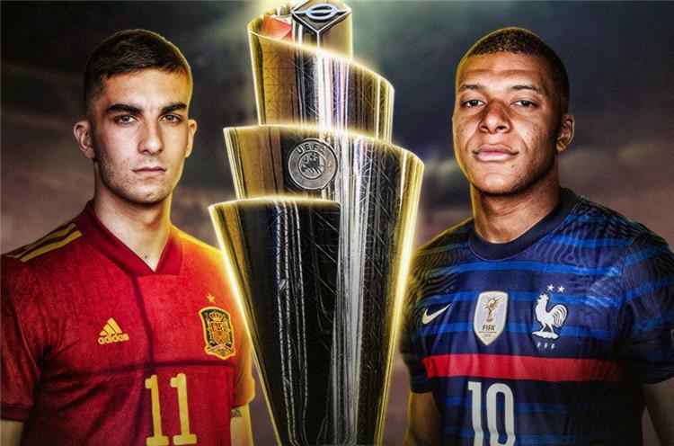 مباراة فرنسا وإسبانيا