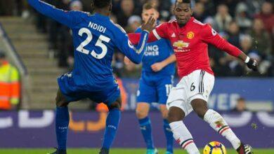 صورة بث مباشر مانشيستر يونايتد وليستر سيتي Manchester United vs Leicester city