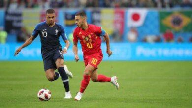 صورة أهداف مباراة بلجيكا وفرنسا france vs belgium في نصف نهائي دوري أمم أوروبا