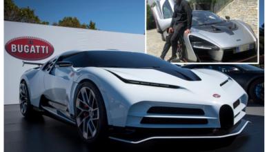 صورة رونالدو يشتري واحدة من أندر السيارات في العالم مقابل 181 مليون جنيه