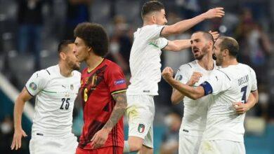 صورة بث مباشر مباراة إيطاليا وبلجيكا Italy vs Belgium كورة لايف KORALIVE
